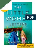 LITTLE WOMEN LETTERS by Gabrielle Donnelly – read an excerpt!