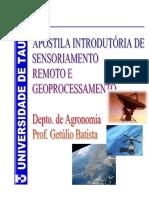 Perguntas e Respostas sobre Sensoriamento Remoto, Cartografia e ...