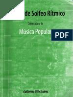Manueal Solfeo Rítmico - Guillermo Rifo