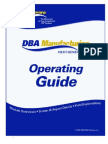 DBA OperatingGuide