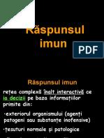 raspunsul imun
