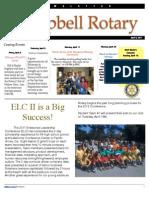 Rotary Newsletter Apr 5 2011