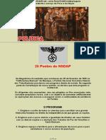 25 Pontos Do NSDAP