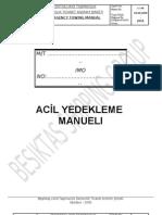 YEDEKLEME MANUELI