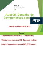 IET - 06 Desenho de Componentes Para PCI