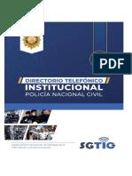 Directorio Telefonico PNC2021