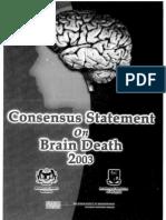 Consensus Statement on Brain Death_Malaysia_2003