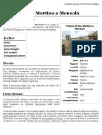 Chiesa di San Martino a Mensola - Wikipedia