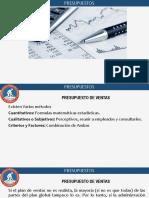 CLASE INTRODUCCION PRESUPUESTO DE VENTAS