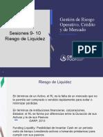 Sesiones 9 y 10 Riesgo de Liquidez