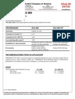 TDS STRUKTOL SCA 989 Spanish