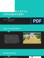 PRESENTACION HIDRAULICA Y CONSTRUCCION
