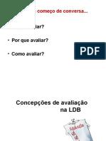 Avaliação na LDB