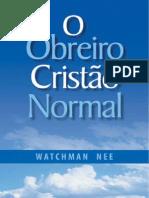 O Obreiro Cristão Normal - Watchman Nee