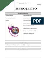 Anteprojecto NOVO MUNDO Re Formula Do