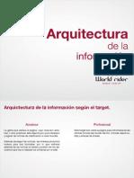 Aquitectura de La Informacio