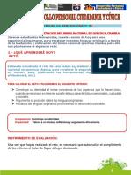 ACTIVIDAD DE APRENDIZAJE N°22 DPCC PRIMERO