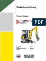 Bed.Anleitung ET18; ET20; ET24
