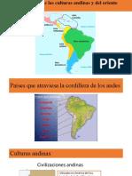 mapa culturas andinas y del oriente 4A