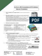 101013 - Manuel Installation Compteurs ACLLA ME372 MT372 Ver. 1.3
