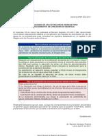Autorizaciones de Uso Aguas relacionadas con el Otorgamiento de Concesiòn de Beneficio Minero