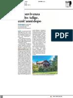 La convivenza in Alto Adige, cento anni dopo - Alto Adige del 7 settembre 2021