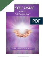 APOSTILA DE REIKI USUI - NÍVEL 1-1