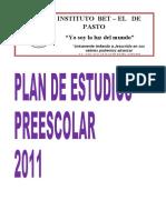 PLAN DE ESTUDIOS PREESCOLAR DOLLY