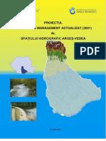 Text Proiect Plan Management Actualizat 2021 Spatiu Hidrografic Arges Vedea