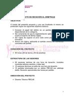 Proyecto de Iniciación Al Arbitraje Basquet