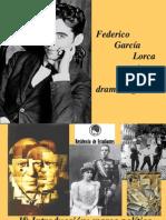Federico García Lorca poeta y dramaturgo presentación