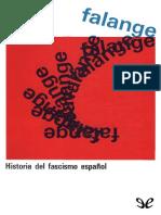 Falange. Historia Del Fascismo Espanol