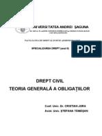Sinteza dr civ - Teoria obligatiilor1