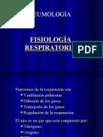 Fisiología resp