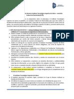 ACUERDO COLABORACIÓN RESIDENCIA PROFESIONAL