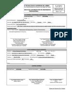 R4-PO-SGC-14 FORMATO  ÚNICO DE AUTORIZACIÓN DE RESIDENCIA PROFESIONAL PENDIENTE