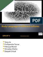 Culture & Body Language (Apr.2)