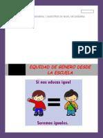 REGLAMENTO EQUIDAD DE GENERO DESDE LA ESCUELA TRABAJO EN LINEA