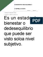 EXAMEN DIAGNOSTICO DE VIDA SALUDABLE  2 A, B Y C