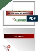 Presentación General del estudio de opinión pública IRI-IMASEN