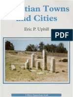 UPHILL, Eric P. - Egyptian Towns and Cities