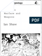 SHAW, Ian - Egyptian Warfare and Weapons