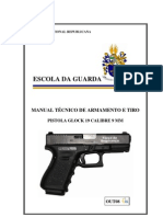 06 - Manual Pistola Glock 19 Calibre 9 mm