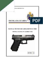 06 - Manual Pistola Glock 19 Calibre 9 mm