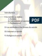 exposé sur le suicide