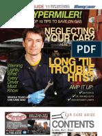 Moneysaver Car Care Guide - 2011