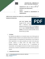 OPOSICION DE SOBRESEIMIENTO