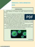 texto expositivo coronavirus