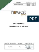 PETS.COC05 - PREPARACION  DE POSTRES