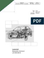AUDI Materials LH Werkstoff 2019-03-25 AKTUELL